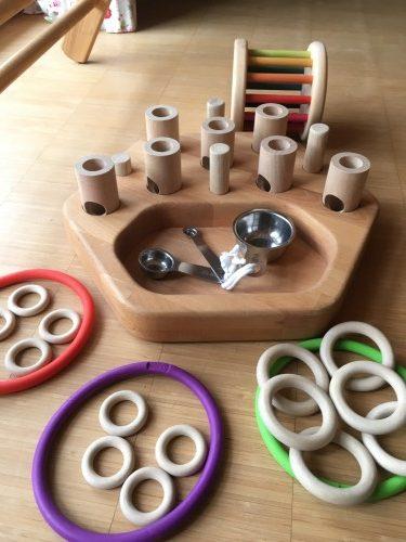 Steck- und Sammelspiel