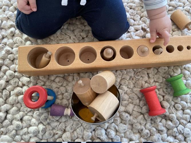 Zylinderblock für freies Spielen