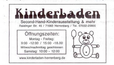 Kinderladen Herrenberg Kindermode Gebraucht Second Hand Familienspielraum