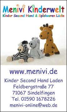Menivi Kinderwelt in Sindelfingen Kinderkleidung Familienspielraum